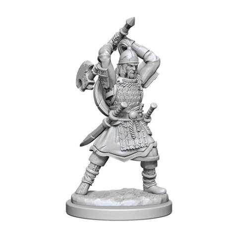 DUNGEONS AND DRAGONS NOLZURS MARVELOUS MINIATURES: W13 MALE HUMAN BARBARIAN