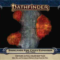 PATHFINDER ROLEPLAYING GAME: FLIP-TILES: DARKLANDS FIRE CAVE EXPANSION