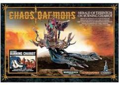 Chaos Daemons Herald of Tzeentch on Burning Chariot of Tzeentch