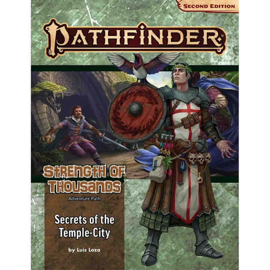 PATHFINDER (2E) ADVENTURE PATH: SECRETS OF THE TEMPLE-CITY (STRENGTH OF THOUSANDS 4 OF 6)
