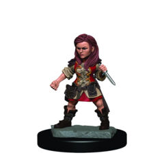 DUNGEONS AND DRAGONS: ICONS OF THE REALM PREMIUM FIGURE (WAVE 3): FEMALE HALFLING ROGUE