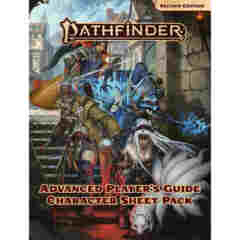 PATHFINDER RPG (SECOND EDITION): ADVANCED PLAYERS GUIDE CHARACTER SHEET PACK