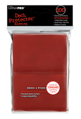 Ultra Pro Deck Protector Red (100 ct)