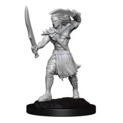 MAGIC THE GATHERING UNPAINTED MINIATURES: W13 VAMPIRE LACERATOR AND VAMPIRE HEXMAGE