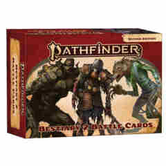 PATHFINDER RPG (2E): BESTIARY 2 BATTLE CARDS