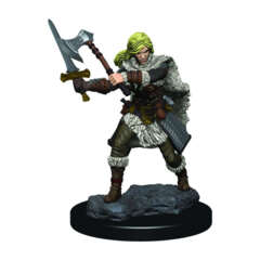 DUNGEONS AND DRAGONS: ICONS OF THE REALM PREMIUM FIGURE (WAVE 3): FEMALE HUMAN FIGHTER