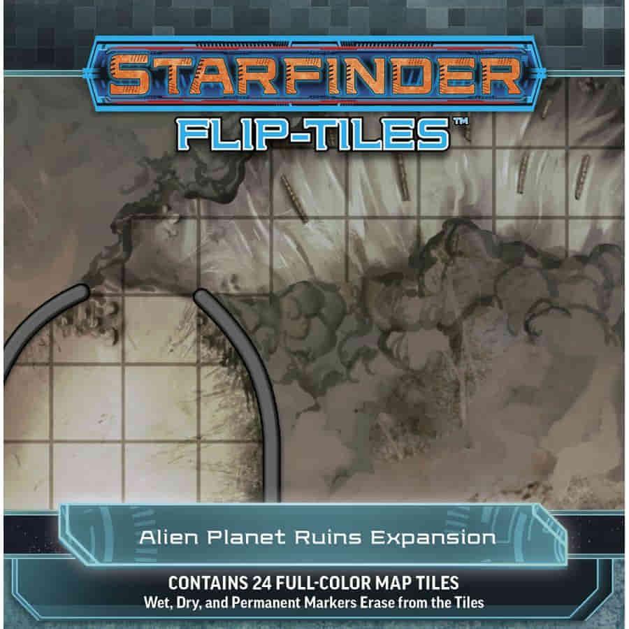 STARFINDER RPG: FLIP-TILES: ALIEN PLANET RUINS EXPANSION