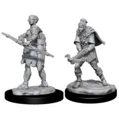 DUNGEONS AND DRAGONS: NOLZUR'S MARVELOUS UNPAINTED MINIATURES -W11-FEMALE HUMAN RANGER