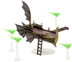Dungeons & Dragons Fantasy Miniatures: Icons of the Realms Set 14 Eberron: Rising from the Last War Premium Set - Skycoach