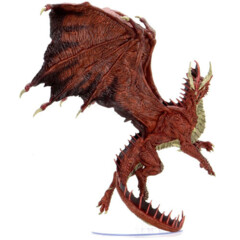 Dungeons & Dragons Fantasy Miniatures: Icons of the Realms - Adult Red Dragon Premium Figure