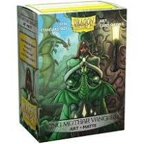Dragon Shield Sleeves: Art Matte - King Mothar Vanguard (Box of 100)