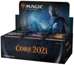 Core Set 2021 Booster Box (No Promotional Card - Available July 3rd)