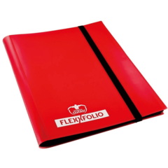 Ultimate Guard 4-Pocket Portfolio: Red