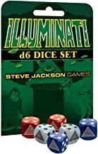 Illuminati d6 Dice Set