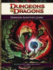 Dungeons & Dragons RPG - 4th Edition: Dungeon Master's Guide (Hardcover)