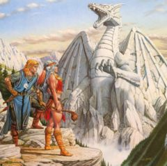 Advenced Dungeons and Dragons- Dragon Lance: Dragons of Light