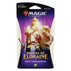 Magic The Gathering: Throne of Eldraine White Theme Booster