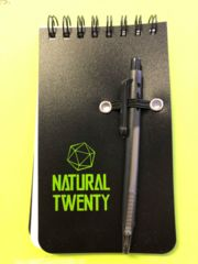 Natural 20 notepad
