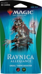 Magic The Gathering: Ravnica Allegiance Gruul Theme Booster