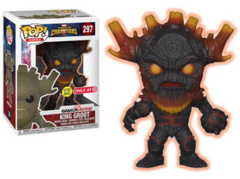 Pop! - Contest Of Champions - King Groot - Scorched Glow - #297 - Target