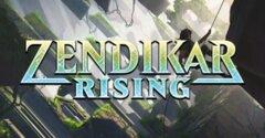 Zendikar Rising Theme Booster Display