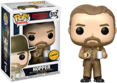 Pop! - Stranger Things - Hopper - w/ Donut No Hat Chase - #512 - Common
