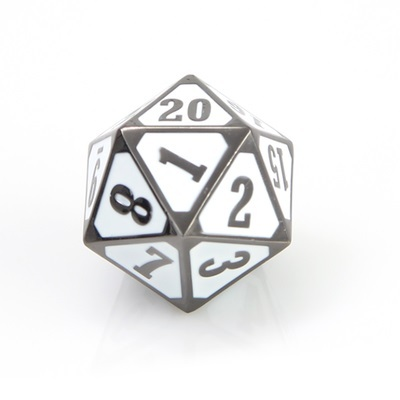 DIE HARD MTG roll down spindown metal sinister white