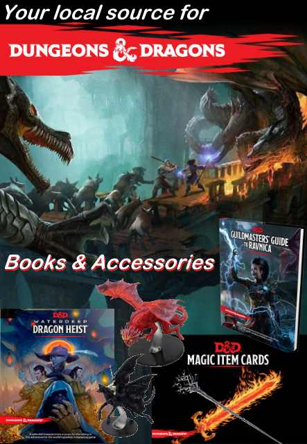 D&D books and accessories!