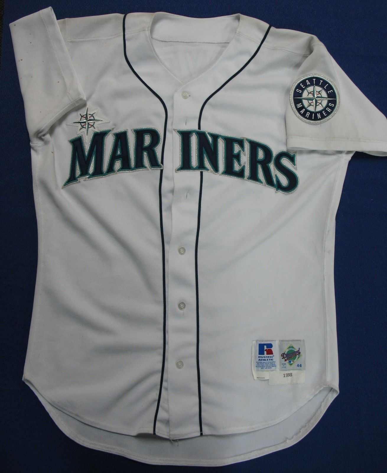 Jamie Moyer #50 Autographed Game Worn Jersey Size 44