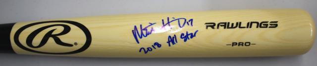 Mitch Haniger Signed Baseball Bat w/ 2018 All Star Inscription JSA
