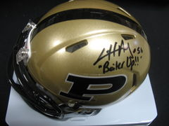 Cliff Avril  Purdue Autographed  Mini Helmet