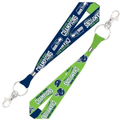 Seattle Seahawks 2013 NFC West Division Champions 18'' Lanyard