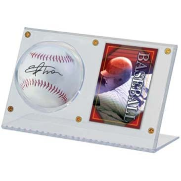 Baseball & Card Clear Holder