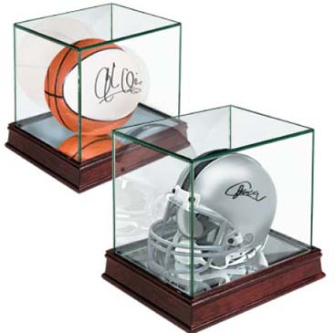 Mini Helmet Premium Glass Display