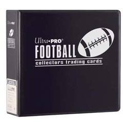 3in. Black Football Album