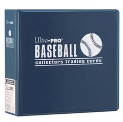 3in. Blue Baseball Album