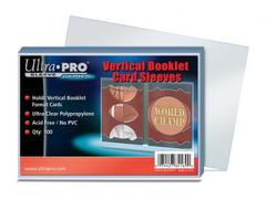 Vertical Booklet Card Sleeves