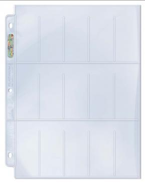 15-Pocket Platinum Page for Tobacco Cards