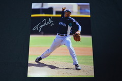 Taijuan Walker Signed 8x10 Photo #1
