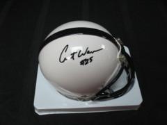 Curt Warner Penn State Autographed Mini Helmet