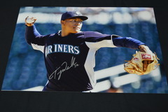 Taijuan Walker Signed 12x18 Photo #2