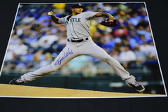 Taijuan Walker Signed 16x20 Photo