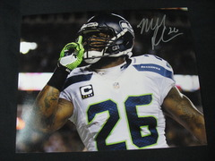 Michael Robinson Seahawks Autographed 8x10 Photo