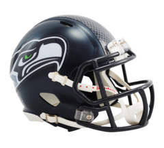 Seattle Seahawks Mini Helmet Current Speed Style 2012 > Unsigned