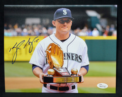 Kyle Seager Signed 8x10 Photo #3 Mariners JSA WPP