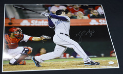 Kyle Seager Signed 16x20 Photo #1 Mariners JSA WPP