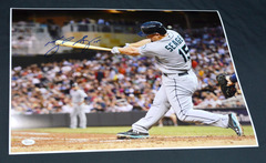 Kyle Seager Signed 16x20 Photo #2 Mariners JSA WPP