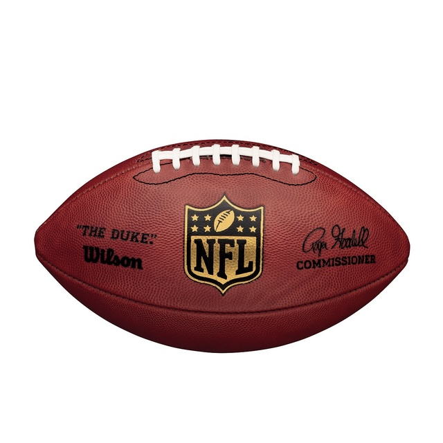 Official NFL Authentic Wilson Duke Football unsigned