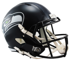 Seattle Seahawks Full Size Replica Speed Style Helmet 2012 > Unsigned