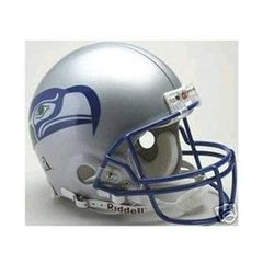 Seattle Seahawks Retro Full Size Replica Helmet 1976 - 2001 Unsigned